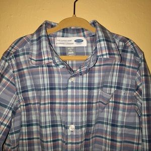 Old Navy Shirts & Tops - Boys Old Navy Plaid Button Up